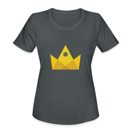 I am the KING - Women's Moisture Wicking Performance T-Shirt