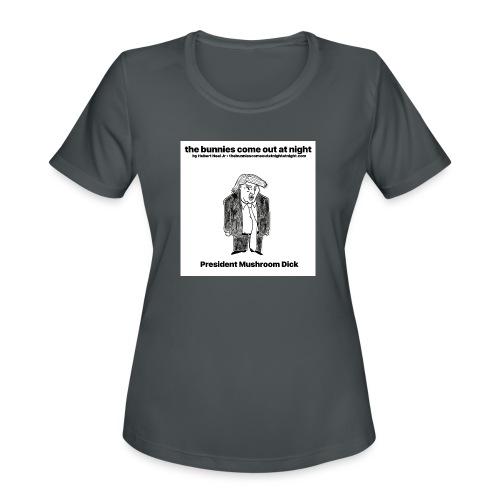 tbcoan Mushroom Dick - Women's Moisture Wicking Performance T-Shirt