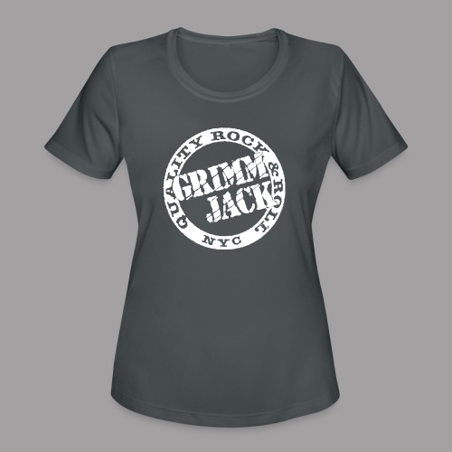 Grimm Jack white Quality RnR - Women's Moisture Wicking Performance T-Shirt