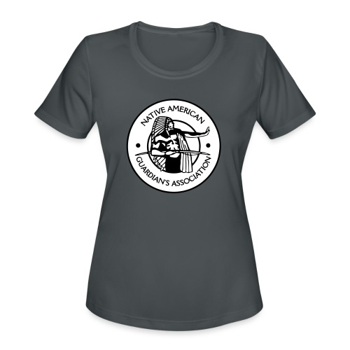 NAGA Logo - Women's Moisture Wicking Performance T-Shirt