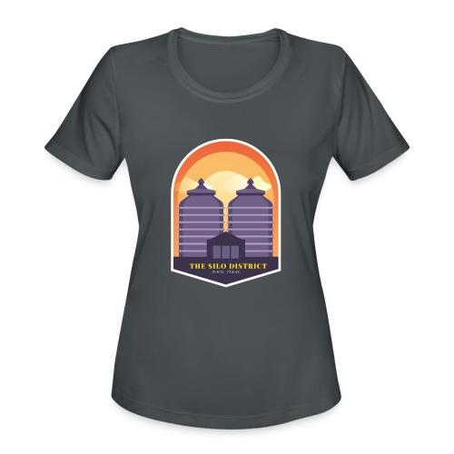 The Silos in Waco - Women's Moisture Wicking Performance T-Shirt