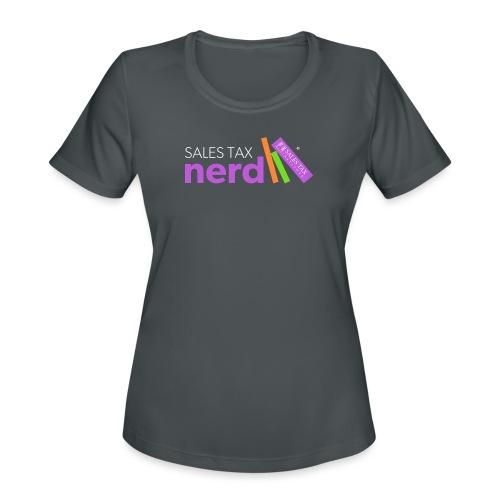 Sales Tax Nerd - Women's Moisture Wicking Performance T-Shirt