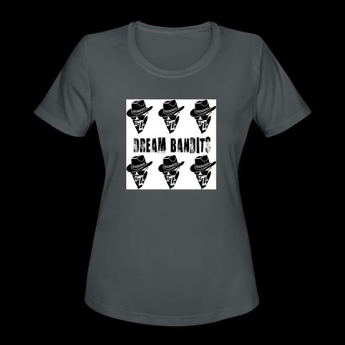 Dreambandits square x6 - Women's Moisture Wicking Performance T-Shirt