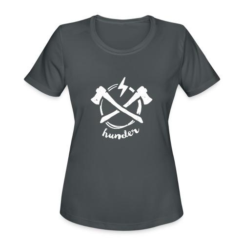 woodchipper back - Women's Moisture Wicking Performance T-Shirt