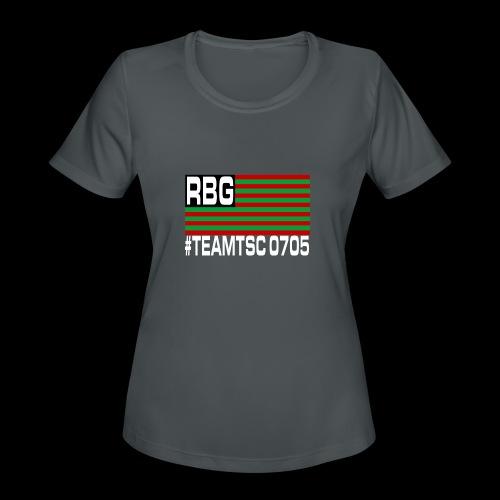 TeamTSC RBGFlag 2 - Women's Moisture Wicking Performance T-Shirt
