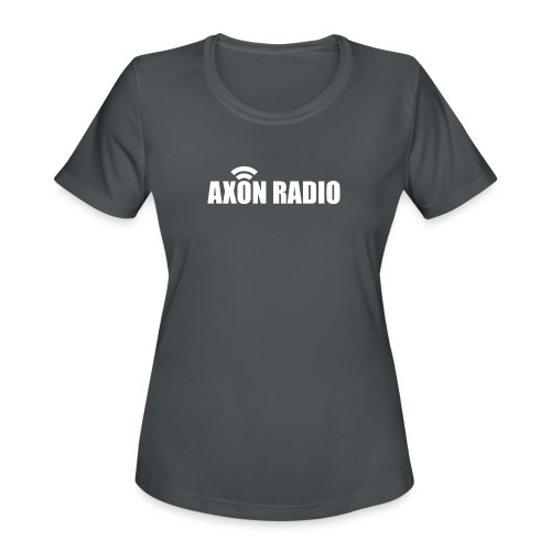 Axon Radio | White night apparel. - Women's Moisture Wicking Performance T-Shirt