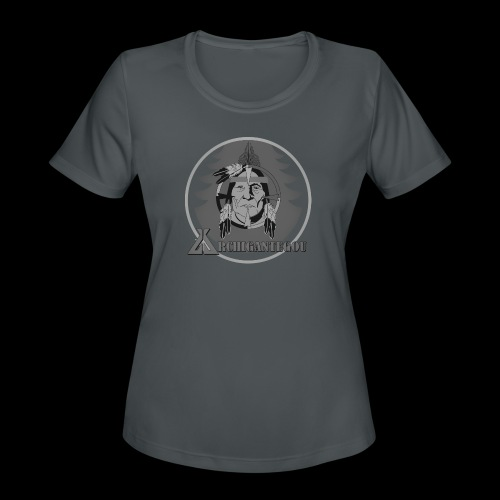 Archigantegou Black & White - Women's Moisture Wicking Performance T-Shirt