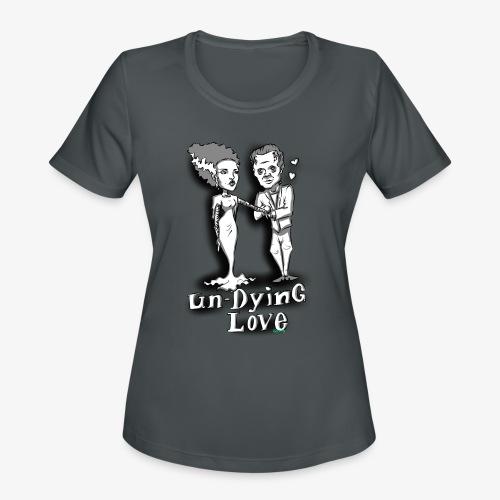 mr and mrs frank final - Women's Moisture Wicking Performance T-Shirt