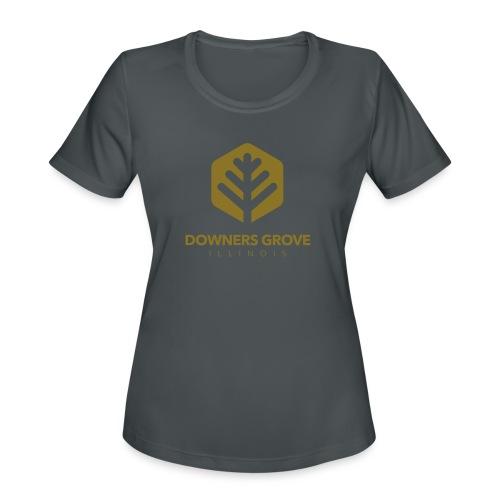 Downers Grove - Women's Moisture Wicking Performance T-Shirt