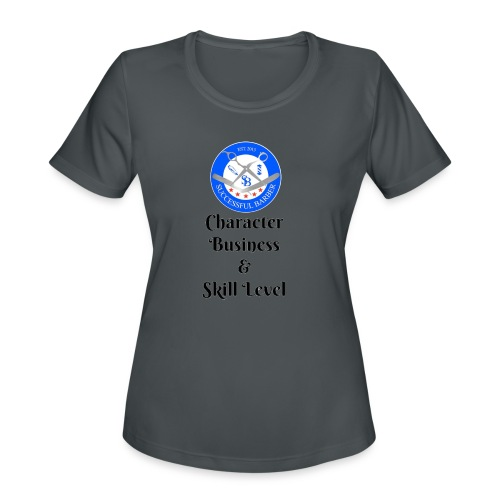 SB Seal Design - Women's Moisture Wicking Performance T-Shirt
