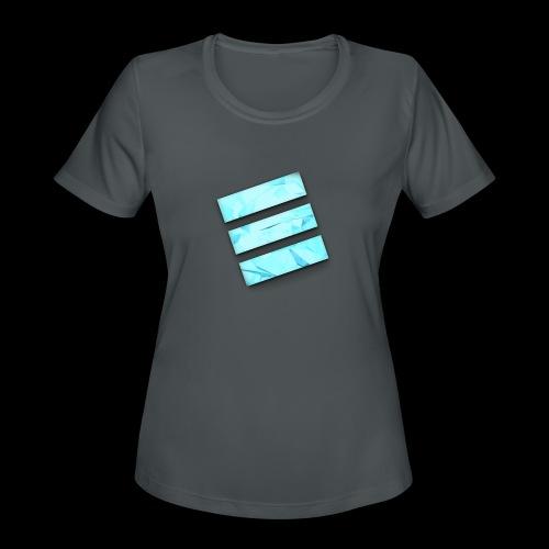 Durene logo - Women's Moisture Wicking Performance T-Shirt