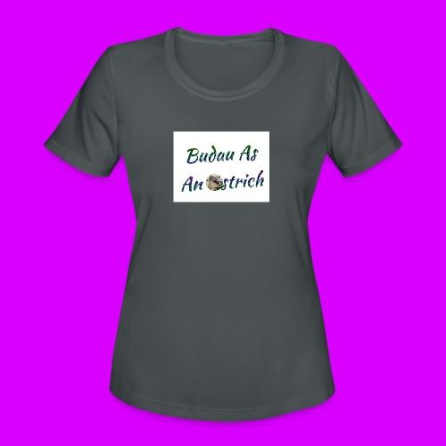 ipod touch ostrich box - Women's Moisture Wicking Performance T-Shirt