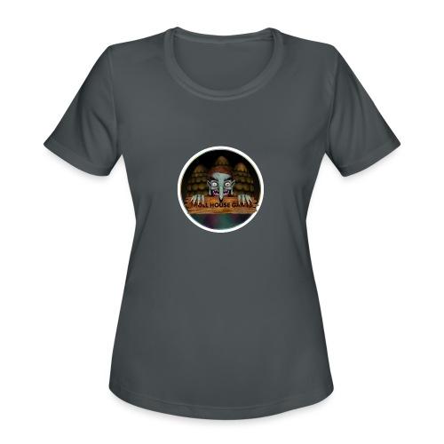 Troll House Games Logo - Women's Moisture Wicking Performance T-Shirt