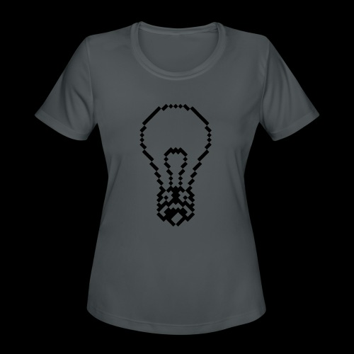 lightbulb by bmx3r - Women's Moisture Wicking Performance T-Shirt
