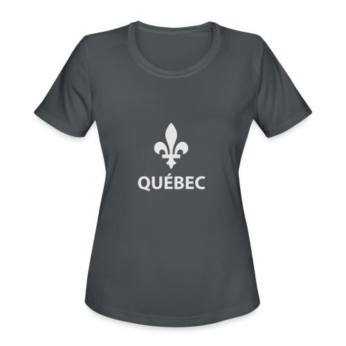 Québec - Women's Moisture Wicking Performance T-Shirt