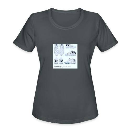 04EB9DA8 A61B 460B 8B95 9883E23C654F - Women's Moisture Wicking Performance T-Shirt