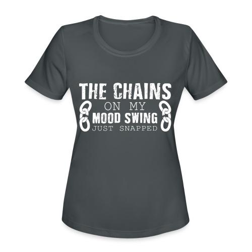 Mood Swings - Women's Moisture Wicking Performance T-Shirt