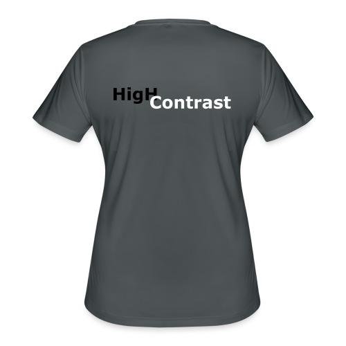 High Contrast - Women's Moisture Wicking Performance T-Shirt