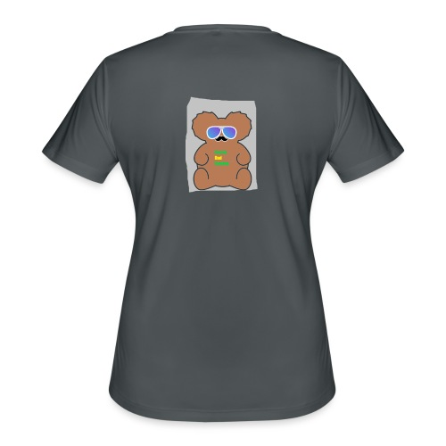 Aussie Dad Gaming Koala - Women's Moisture Wicking Performance T-Shirt