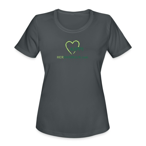 HerHandgun Logo for Kippi ONLY! - Women's Moisture Wicking Performance T-Shirt