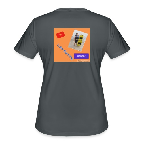 Luke Gaming T-Shirt - Women's Moisture Wicking Performance T-Shirt