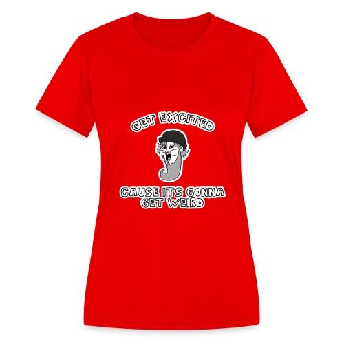Colon Dwarf - Women's Moisture Wicking Performance T-Shirt