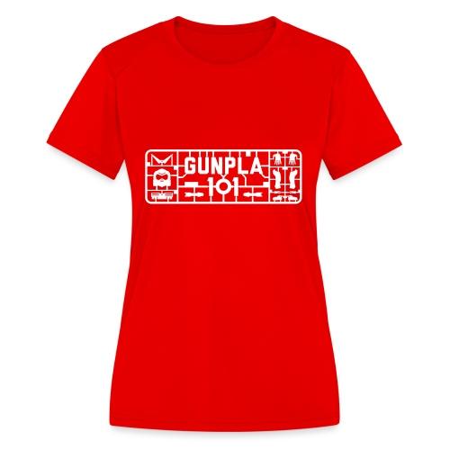 Gunpla 101 Men's T-shirt — Zeta Blue - Women's Moisture Wicking Performance T-Shirt