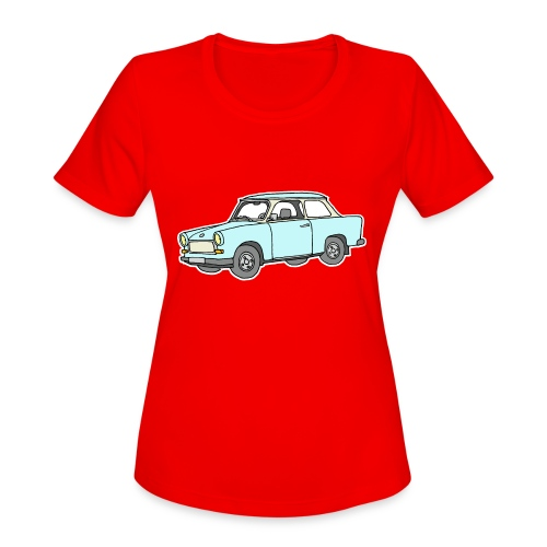 Trabant (lightblue) - Women's Moisture Wicking Performance T-Shirt