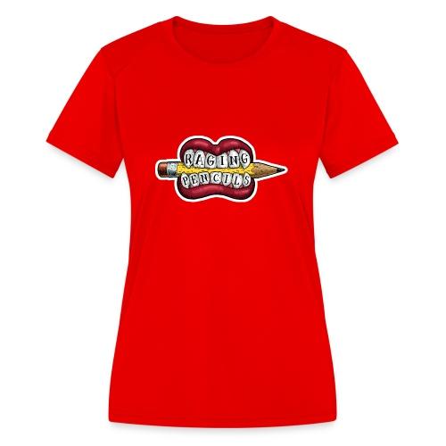 Raging Pencils Bargain Basement logo t-shirt - Women's Moisture Wicking Performance T-Shirt