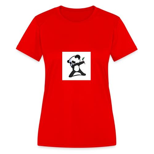 Panda DaB - Women's Moisture Wicking Performance T-Shirt