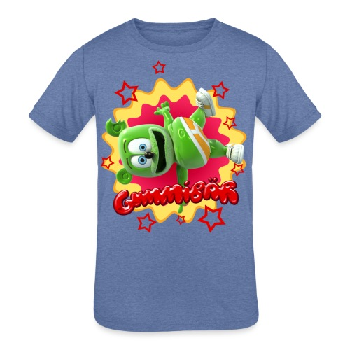 Gummibär Starburst - Kids' Tri-Blend T-Shirt
