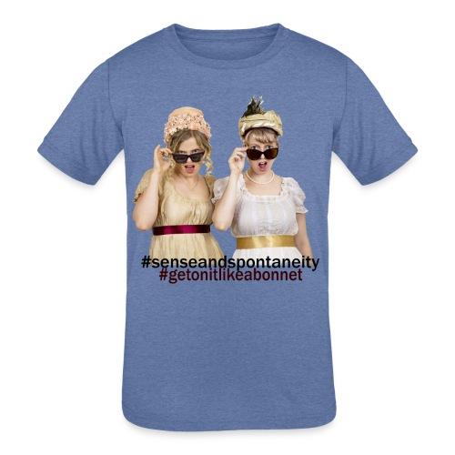 Shady Ladies - Kids' Tri-Blend T-Shirt