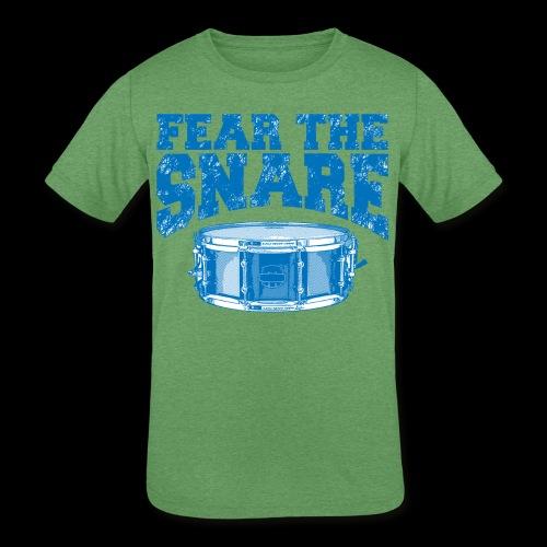 FEAR THE SNARE - Kids' Tri-Blend T-Shirt