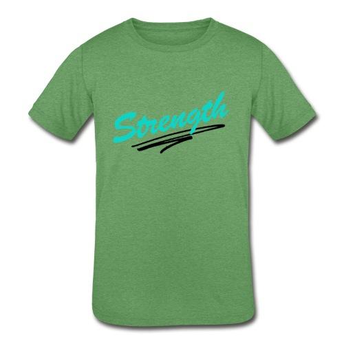 Strength Tank - Kids' Tri-Blend T-Shirt