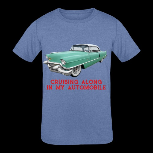 CRUISING ALONG - Kids' Tri-Blend T-Shirt