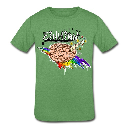 Einhirn - Kids' Tri-Blend T-Shirt