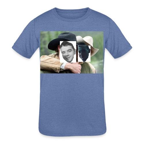 Darien and Curtis Camping Buddies - Kids' Tri-Blend T-Shirt