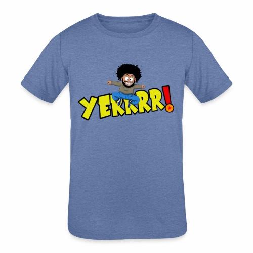 #Yerrrr! - Kids' Tri-Blend T-Shirt