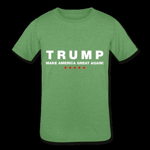 Official Trump 2016 - Kids' Tri-Blend T-Shirt