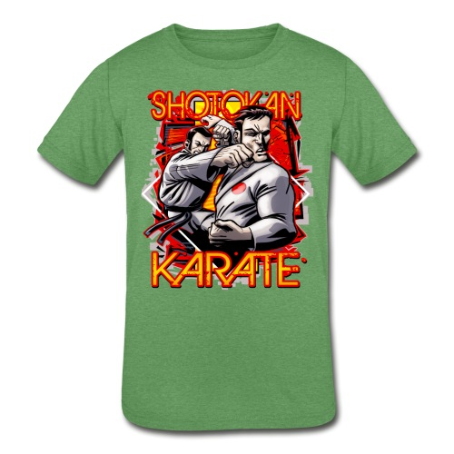 Shotokan Karate - Kids' Tri-Blend T-Shirt