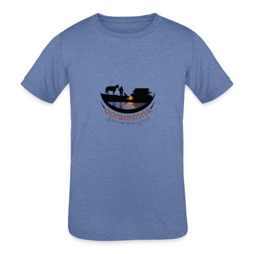 Ooraminna Station Homestead - Kids' Tri-Blend T-Shirt