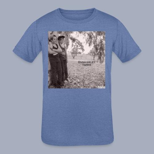 dunkerley twins - Kids' Tri-Blend T-Shirt