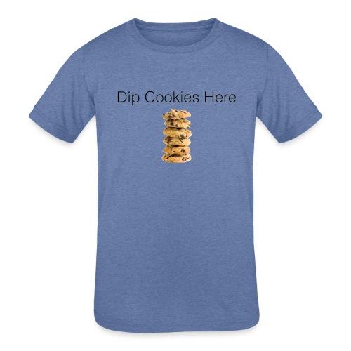 Dip Cookies Here mug - Kids' Tri-Blend T-Shirt