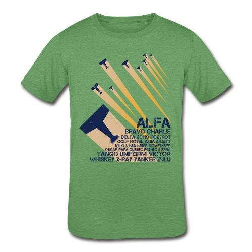 International Phonetic Alphabet - Kids' Tri-Blend T-Shirt