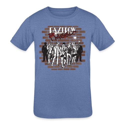 East Row Rabble - Kids' Tri-Blend T-Shirt