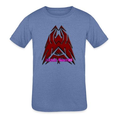 3XILE Games Logo - Kids' Tri-Blend T-Shirt