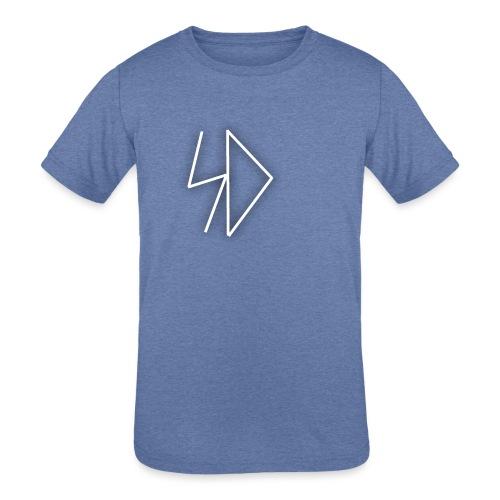 Sid logo white - Kids' Tri-Blend T-Shirt