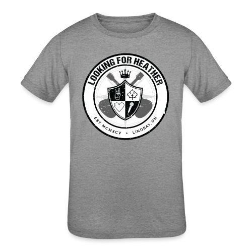 Looking For Heather - Crest Logo - Kids' Tri-Blend T-Shirt