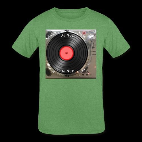 Spin me Round - Kids' Tri-Blend T-Shirt