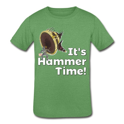 It's Hammer Time - Ban Hammer Variant - Kids' Tri-Blend T-Shirt